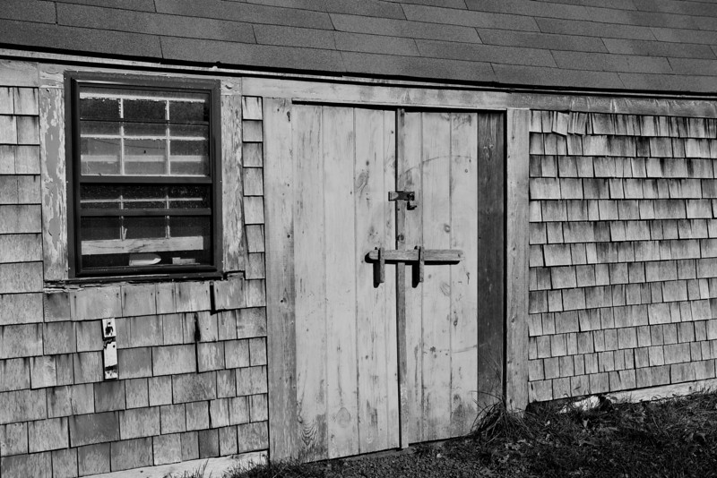Boat House doors, Wychmere Harbor.