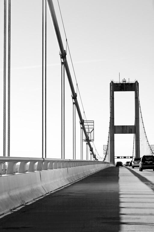 Chesapeake Bay Bridge on the return from Maryland toward Virginia.