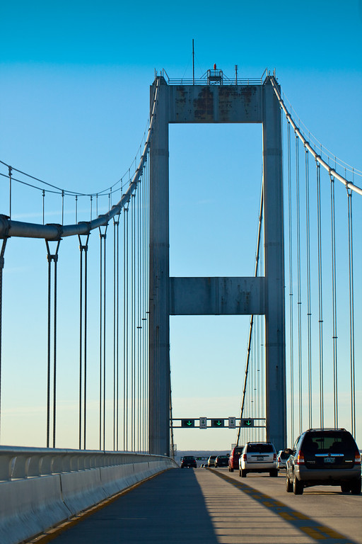 Chesapeake Bay Bridge.