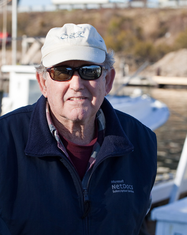 Captain Charles Bryan has worked Chesapeake Bay all of his life.