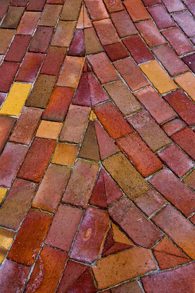 Flowing Brick Pavers