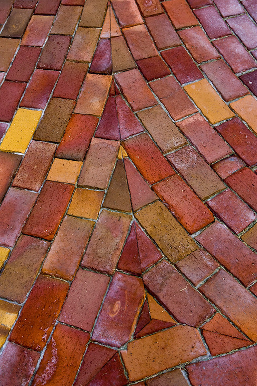 Flowing Brick Pavers