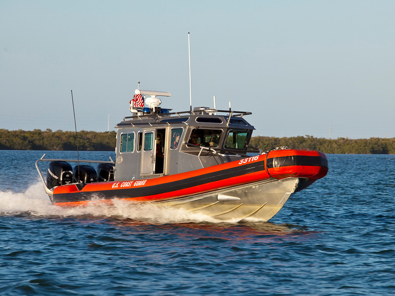 Coast Guard Chase Boat
