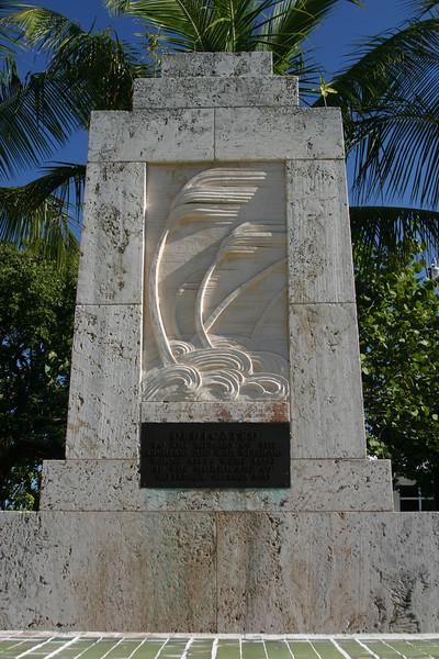 Hurricane Monument, Islamorada, Florida