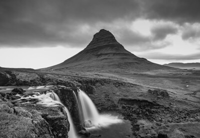 Kirkfell Mountain    Black & White Photography by Wayne Heim