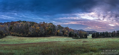 Field at Sunset     Photography by Wayne Heim