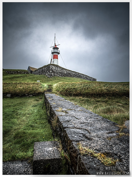 Faroe Lighthouse   Photography by Wayne Heim