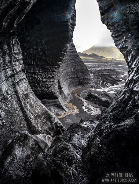 Glacier Cave   Photography by Wayne Heim