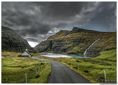 Road to Church  Photography by Wayne Heim