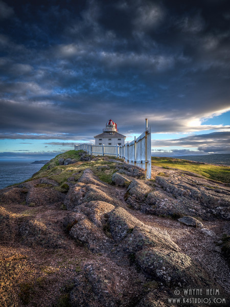 St John' s Lighthouse    Photography by Wayne Heim