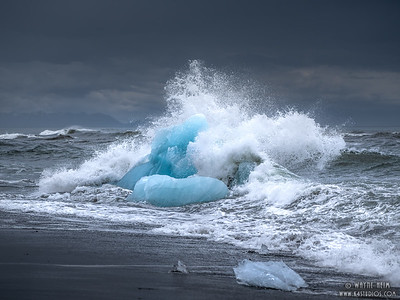 Fighting the Waves    Photography by Wayne Heim