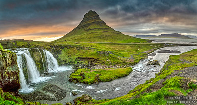 Full View of Kirkjufellsfoss    Photography by Wayne Heim