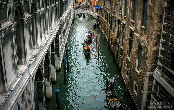 Venice Canal - Photography by Wayne Heim
