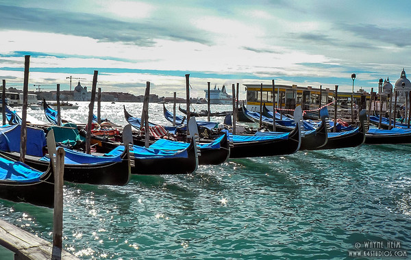 Gondolas at Rest    Photography by Wayne Heim