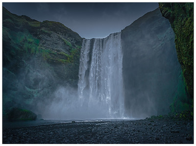 Misty Waterfall   Photography by Wayne Heim