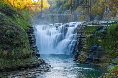 Multiple Falls    Photography by Wayne Heim