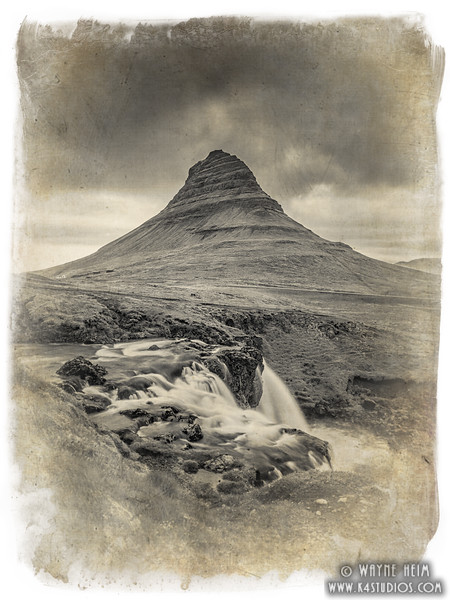 Kirkjufell Mountain  Photography by Wayne Heim