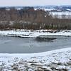 Berck et Baie d'Authie sous la neige