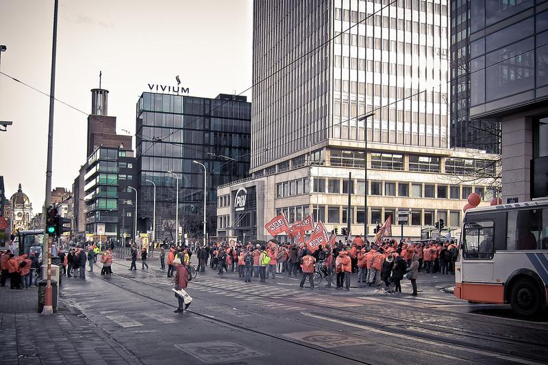 Manifestation Rue Royale