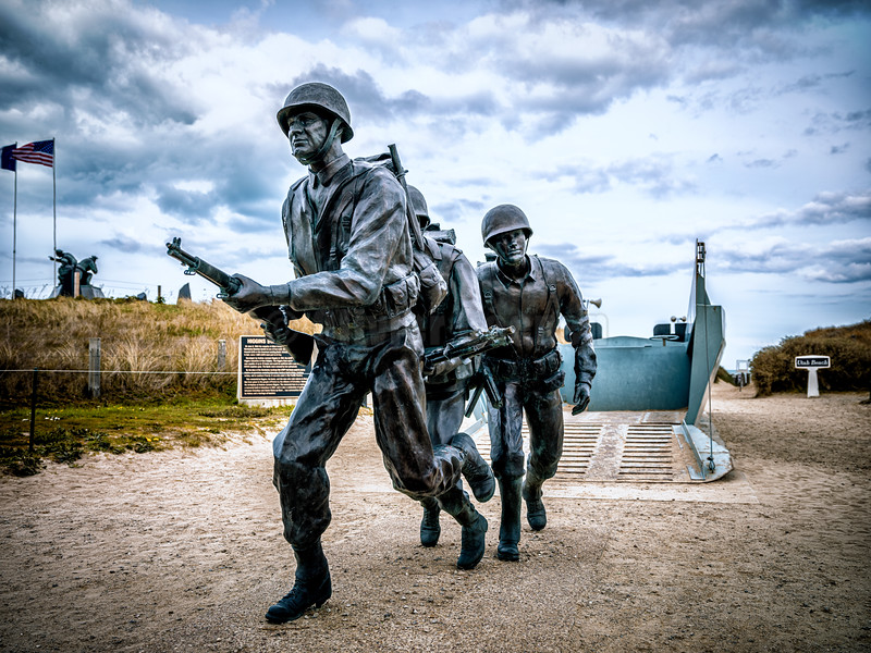 Utah Beach © 2019 Olivier Caenen, tous droits reserves