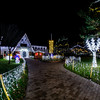 Christmas lights Camiers-St Cecile © 2016 Olivier Caenen, tous droits reserves