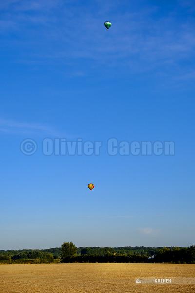 Montgolfiéres sur le Montreuillois © 2019 Olivier Caenen, tous droits reserves