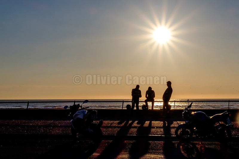 Bikers Sunset © 2016 Olivier Caenen, tous droits reserves
