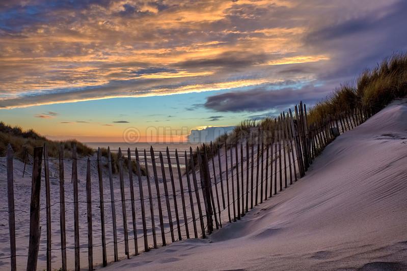 Winter Sunset © 2017 Olivier Caenen, tous droits reserves
