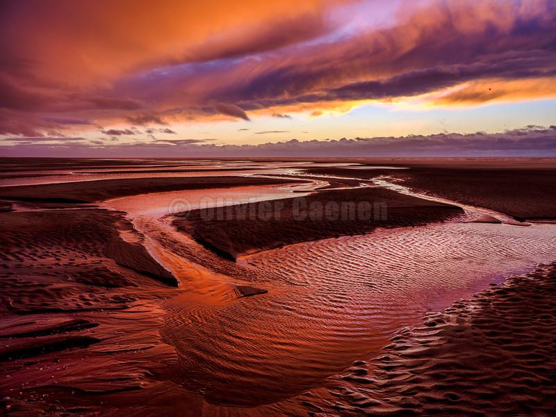 Sunset 01 Janvier © 2018 Olivier Caenen, tous droits reserves