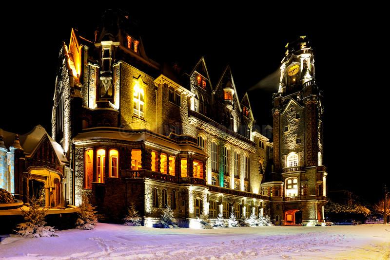 Hôtel de Ville du Touquet By Night
