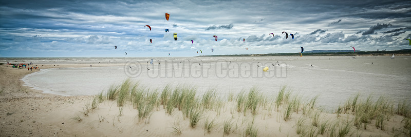 Kite en Baie de Canche
