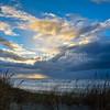 Ciel d'Orage hivernal sur le Touquet