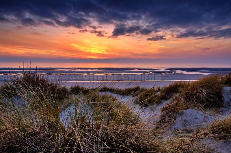 Le Touquet Sunset © 2017 Olivier Caenen, tous droits reserves