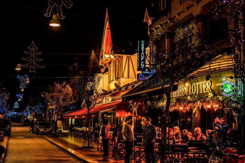 Christmas lights © 2016 Olivier Caenen, tous droits reserves
