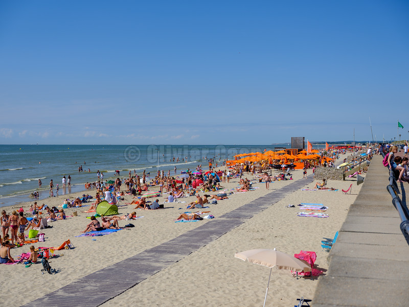 Touquet Beach Summer 2018 © Olivier Caenen, tous droits reserves