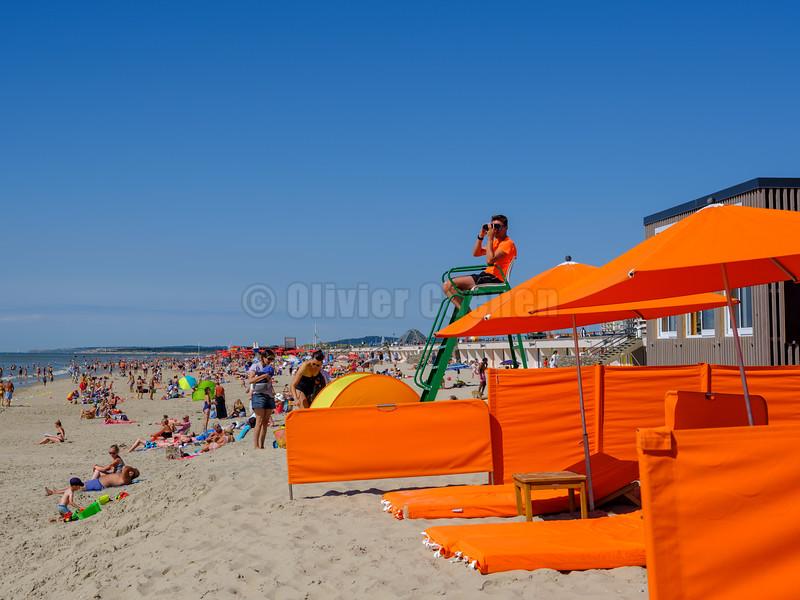 Touquet Beach Summer 2018 © Olivier Caenen, tous droits reserves