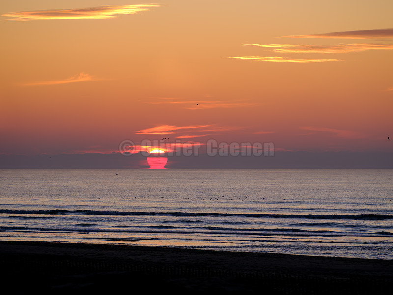 Sunset le Touquet © 2019 Olivier Caenen, tous droits reserves