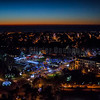 Le Touquet Nightscape from the sky © 2016 Olivier Caenen, tous droits reserves