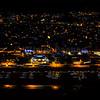 Etaples sur Mer Nightscape from the sky © 2016 Olivier Caenen, tous droits reserves