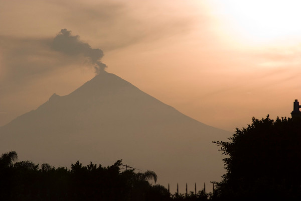 Popocatepetl Volcano - 1 (Mexico)