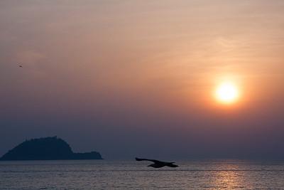 Mediterranean sunrise (Alassio, Liguria, Italy)
