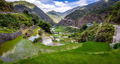 How Green Is My Valley.  Northern Luzon, Philippines