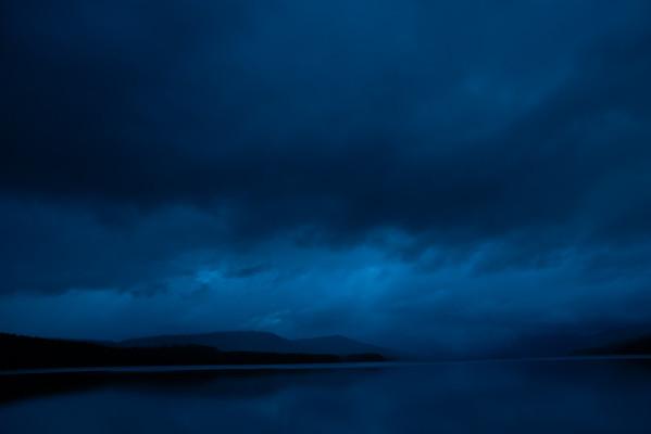 Cloudy Morning, Lake MacDonald, Glacier National Park