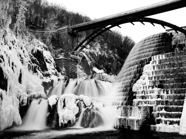 Croton Gorge, Iced Over