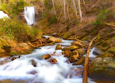 Anna Ruby Falls, Unicoi State Park