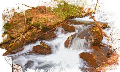 Rushing Waters # 3