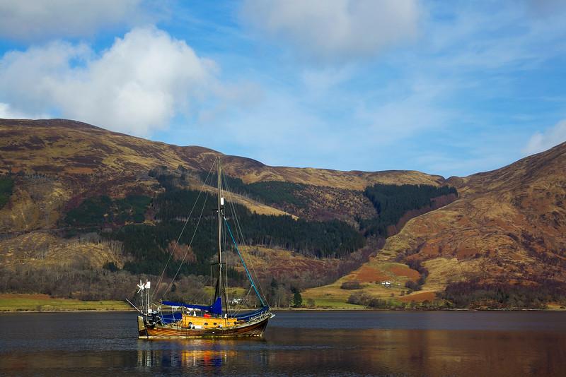 Ballachulish. Glencoe. Scotland  Accepted in the Local Press. John Chapman.