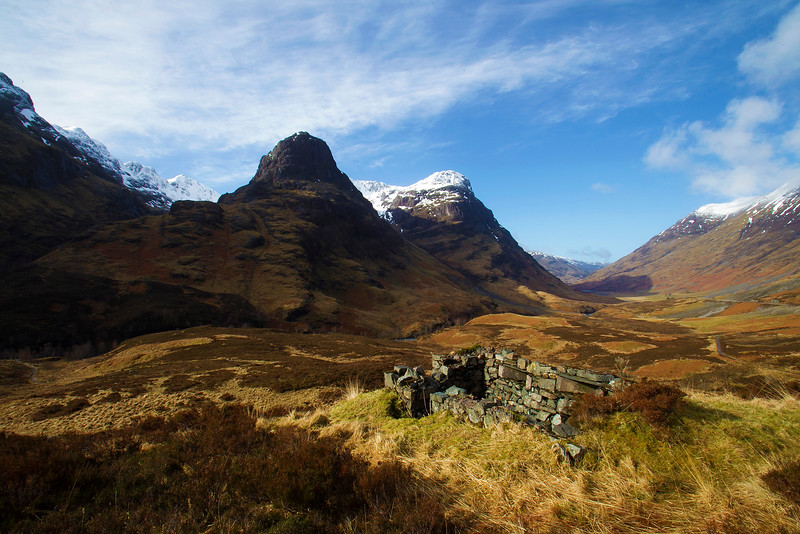 Old Turret for Shooting the Enemy. Glencoe. Accepted in the Local Newspaper.