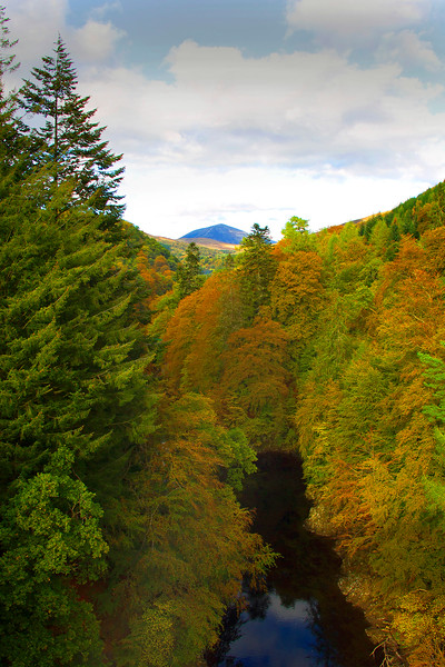 Killiecrankie. Perthshire. Autumn Colours.