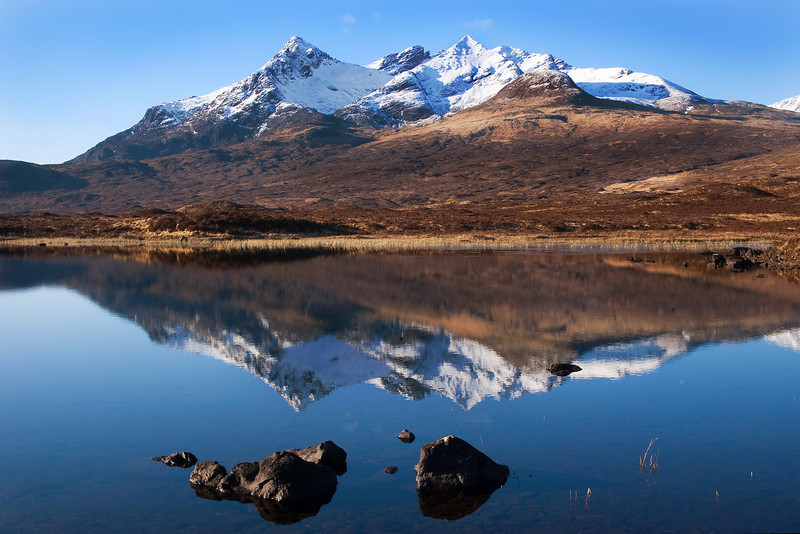 A Mountain behind Sligachan Skye.